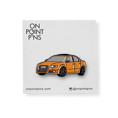 Audi RS4 (Orange) Car Lapel Enamel Pin