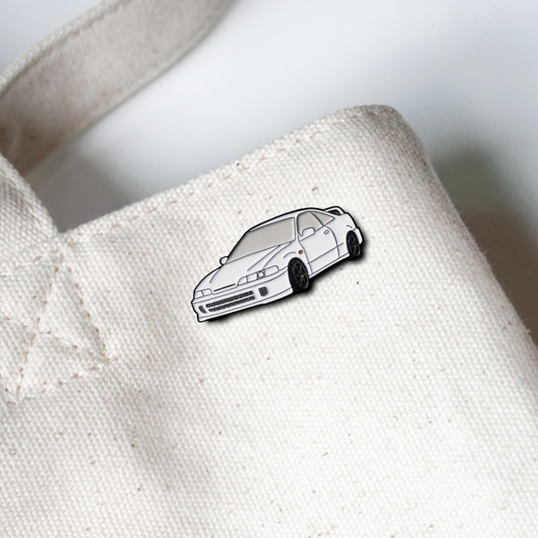 Honda Acura Integra Type R (Championship White) Car Lapel Enamel Pin