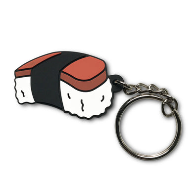 Hawaii: Spam Musubi Soft PVC Keychain