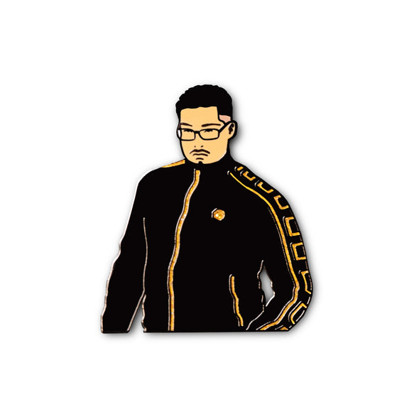 Tough Guy Meme Lapel Enamel Pin