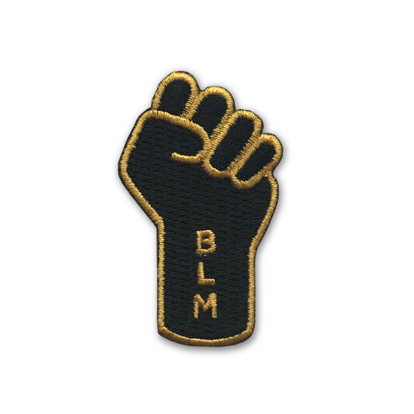 Resist Raised Fist BLM Iron On Patch