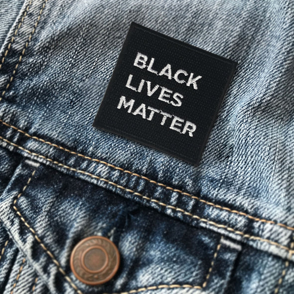 Black Lives Matter (BLM) Iron On Patch