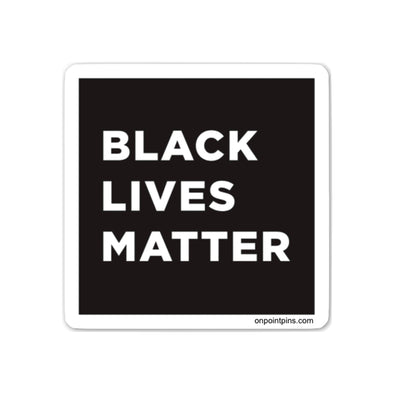 Black Lives Matter (BLM) Cut Vinyl Sticker | Black Lives Matter Charity Fundraiser