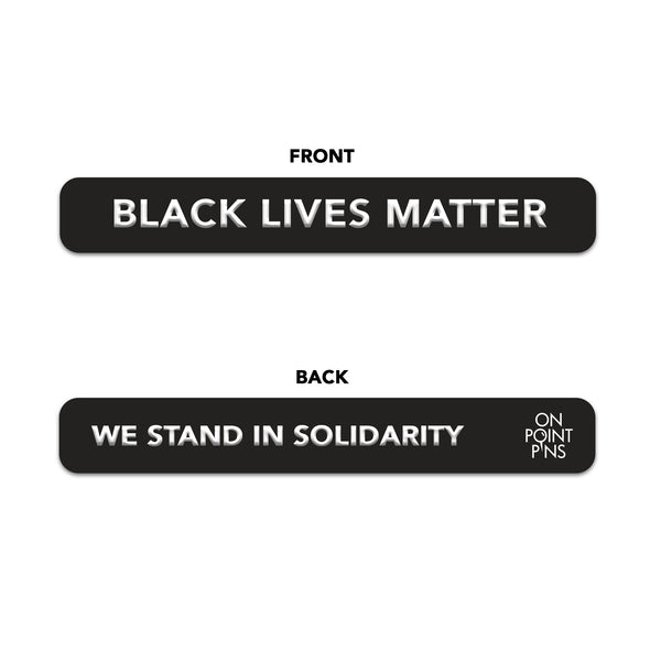 Black Lives Matter (BLM) Silicone Wristband Charity Fundraiser