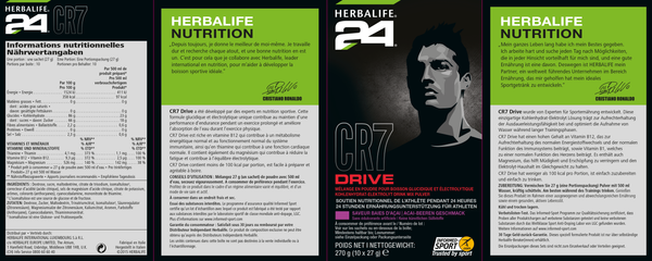 Herbalife H24 CR7 Drive Portionspackungen 270g