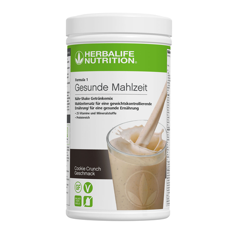 Herbalife Formula 1 Shake Cookie Crunch 550g