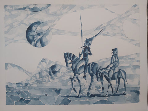 DON QUICHOTTE ET SANCHO PANCHA