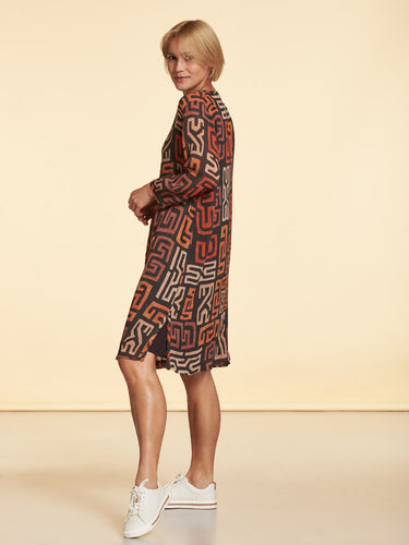 Paprika Printed Dress