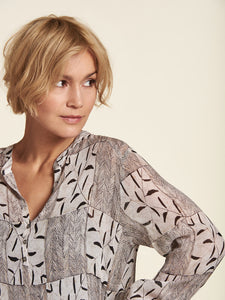 Sand Printed Blouse