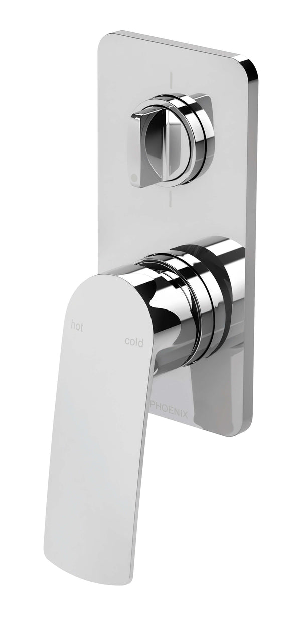 Phoenix Mekko Shower/Bath Diverter Mixer - Chrome
