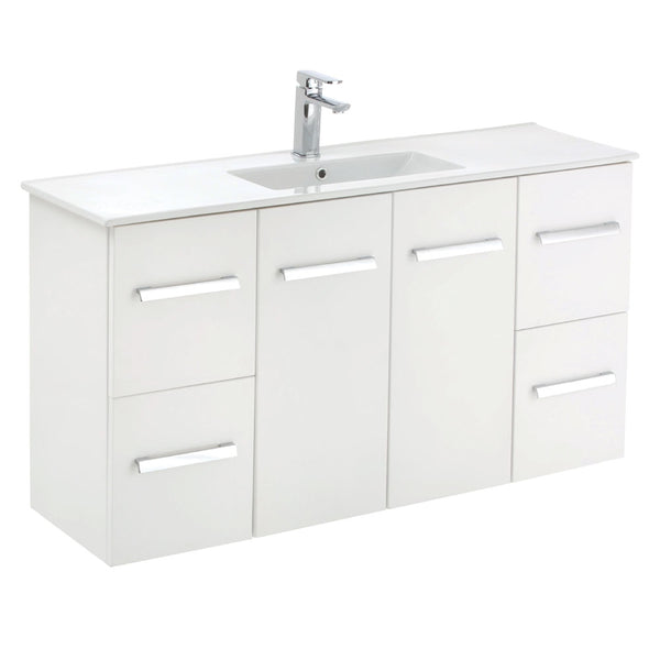 Fienza Delgado Skinny 1200mm Wall Hung Vanity Unit