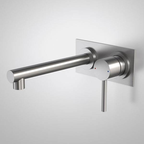 Caroma Titan Stainless Steel Wall Basin Mixer