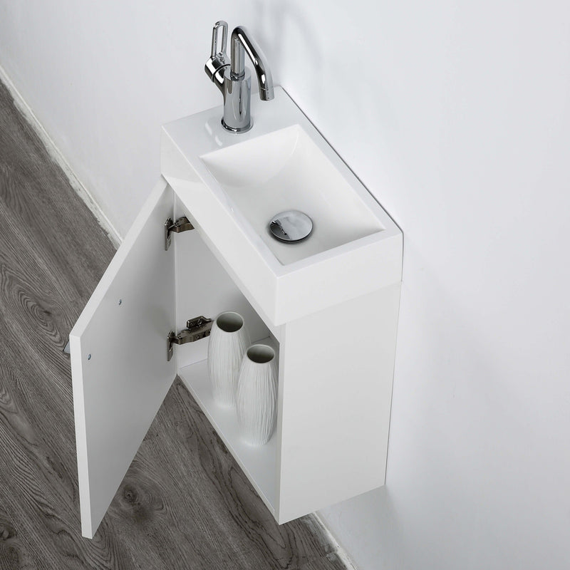 Minikin 400mm Wall Hung Ensuite Vanity Unit