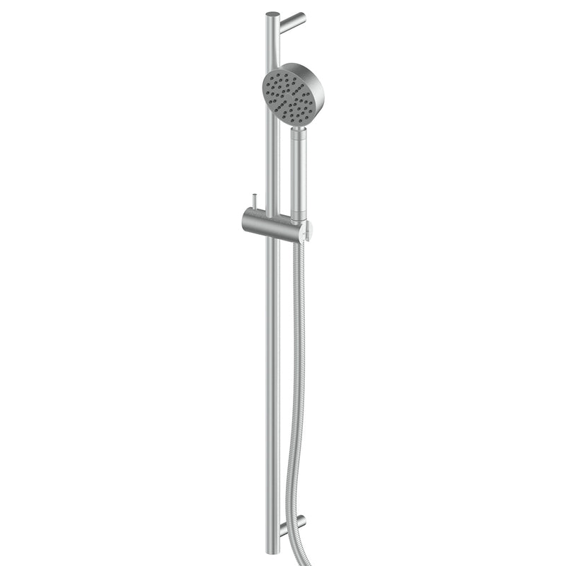 1830003 Textura Rail Shower Brushed Stainless