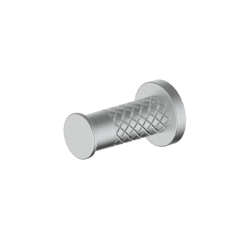 183093 Textura Robe Hook Brushed Stainless