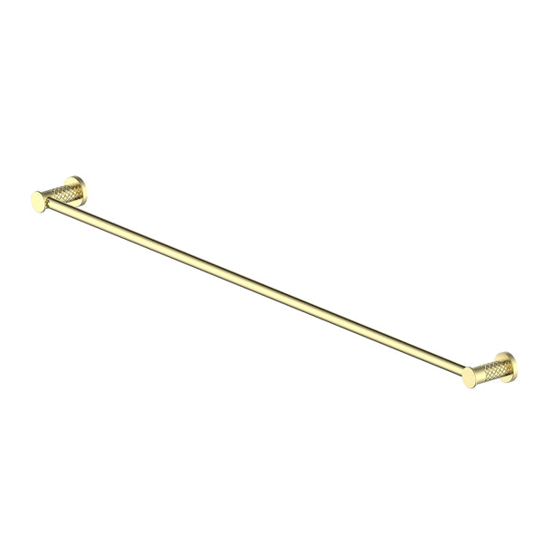 183136 Textura Towel Rail Brushed Brass