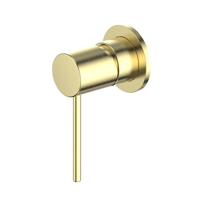 Greens Gisele Shower Mixer - Brushed Brass