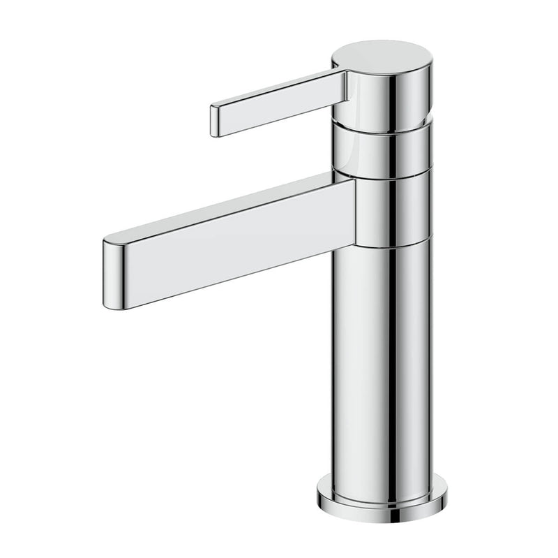 Greens Glint Basin Mixer - Swivel, Chrome