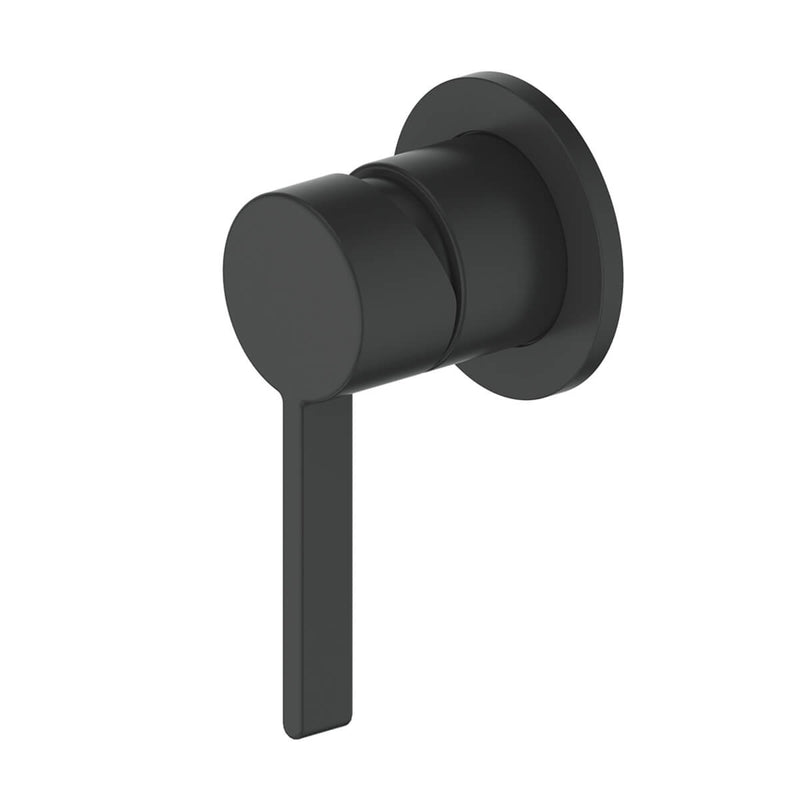 Greens Glint Shower Mixer Matte Black