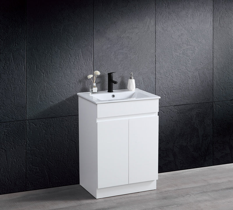 THEBE 600mm Vanity with Slim China Top Finger Pull