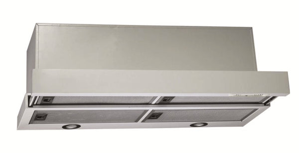 90cm Premium Recirculating Stainless Steel Slide-out Rangehood