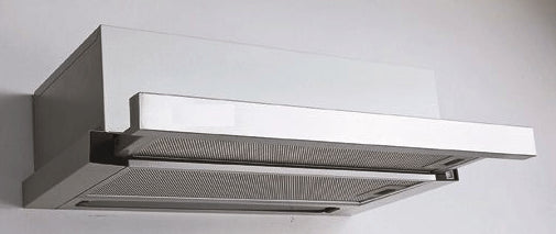 90cm Stainless Steel Twin Motor Slide-out Rangehood