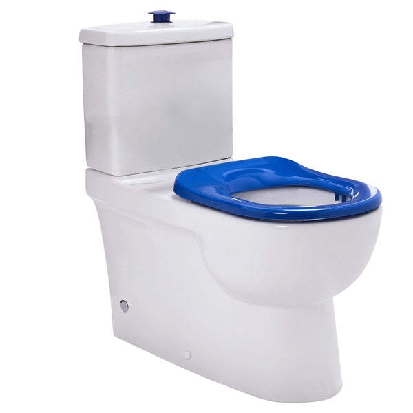 Life Assist Rimless Back to Wall Special Needs Care Toilet Suite