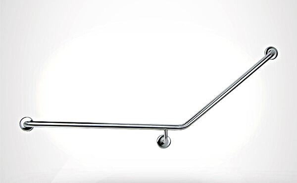 Care+ 45 Degree Left Hand Grab Rail 850mm x 700mm