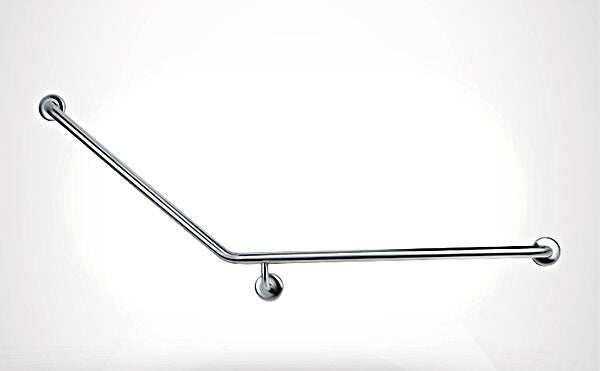Care+ 45 Degree Right Hand Grab Rail 850mm x 700mm