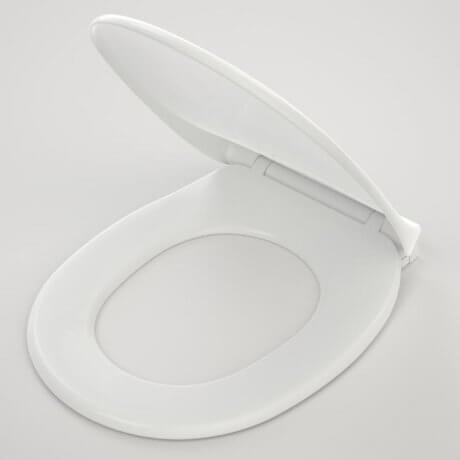 Caroma Trident Soft Close Toilet Seat - White