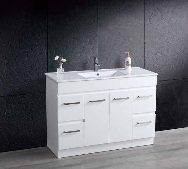 METIS 1200mm Vanity with Slim China Top, 1th
