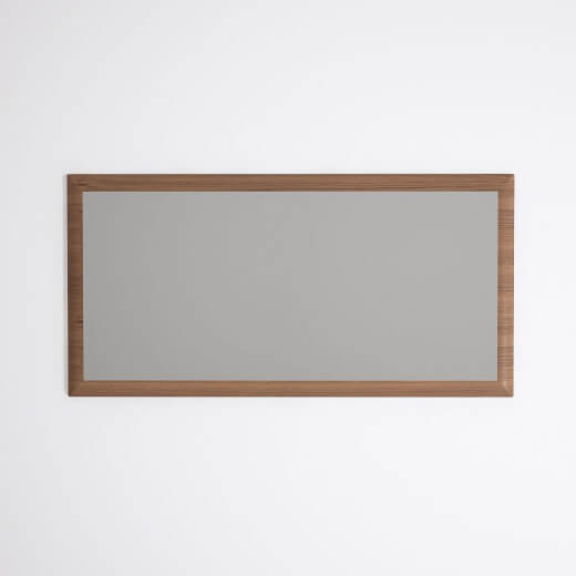 Karpenter Wall Hung Teakwood Ella Mirror 1000mm