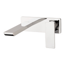 Gloss Wall Basin Mixer Set 180mm