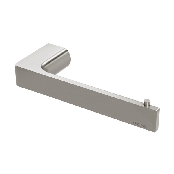 Gloss Toilet Roll Holder, Brushed Nickel