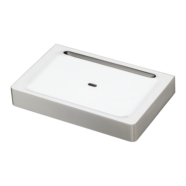 Gloss Soap Dish, Chrome
