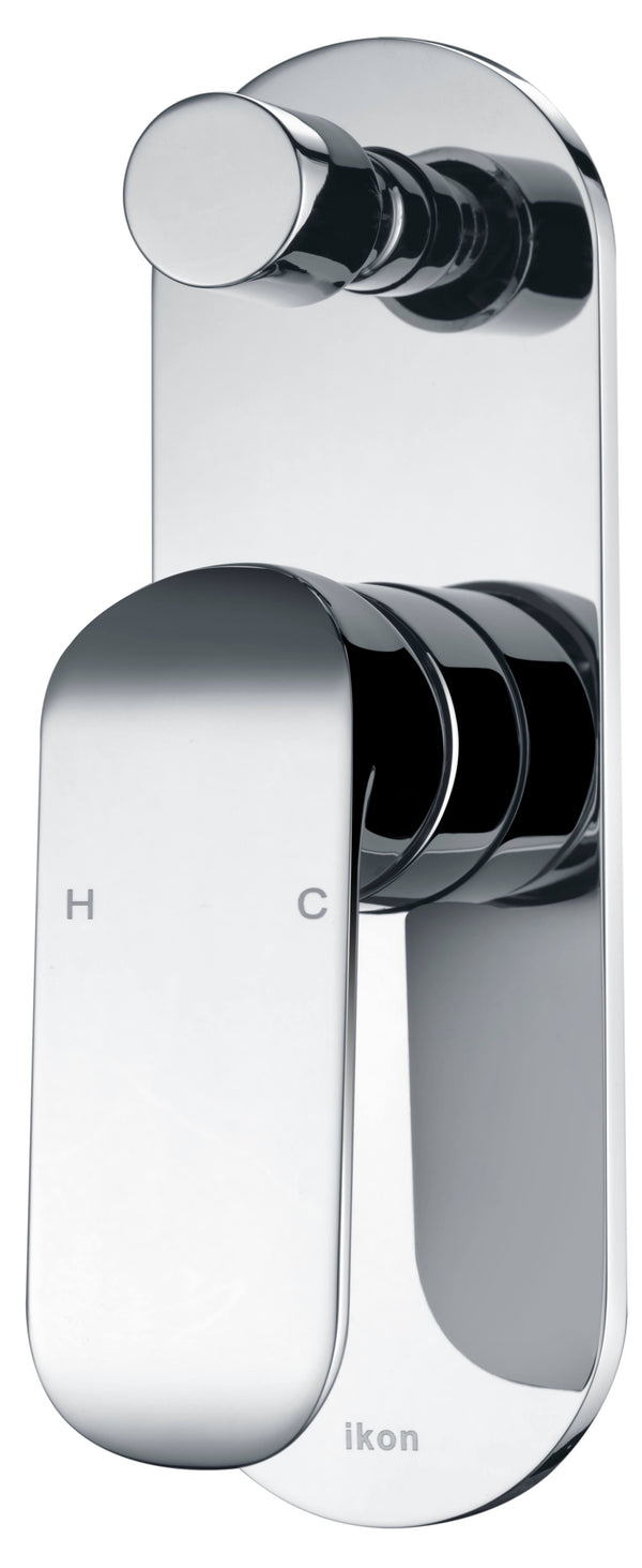 Ikon Harper Diverter Shower/Bath Mixer - Chrome