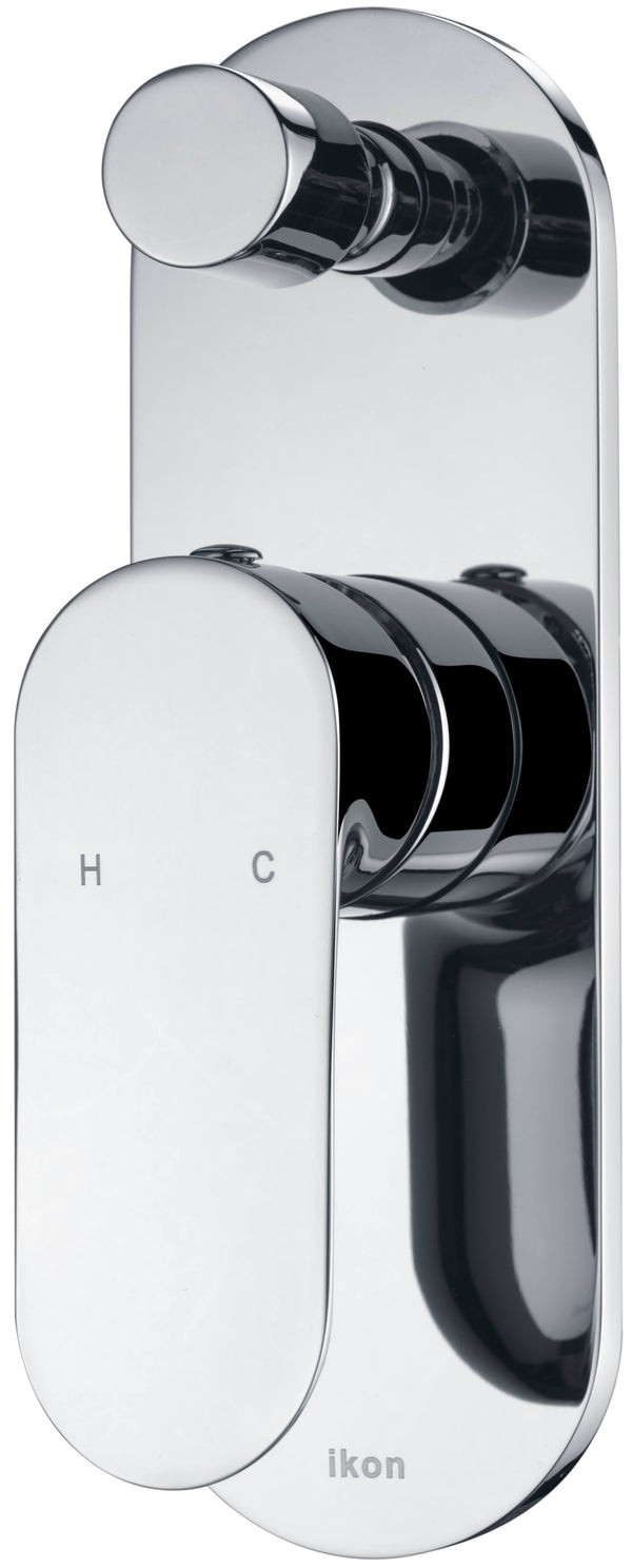 Ikon Nico Diverter Shower/Bath Mixer - Chrome