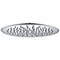 Kara Round Stainless Steel Shower Head - 300mm