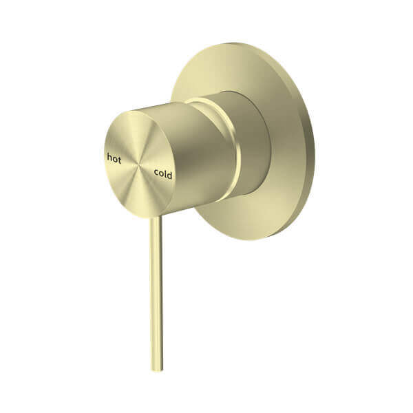Nero Mecca Shower / Bath Wall Mixer - Brushed Gold