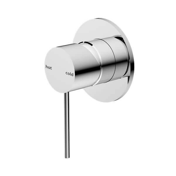 Nero Mecca Shower / Bath Wall Mixer - Chrome