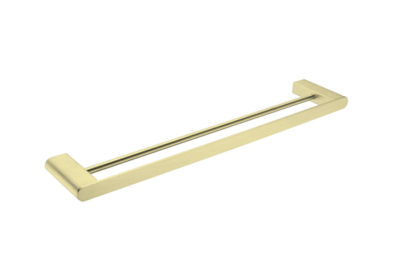 nero-bianca-double-towel-rail-600mm-brushed-gold-NR9024DBG