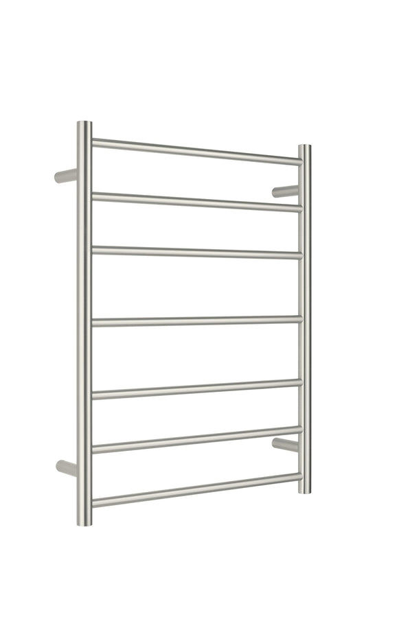 Nero Unheated Towel Ladder 600 x 800mm - Brushed Nickel