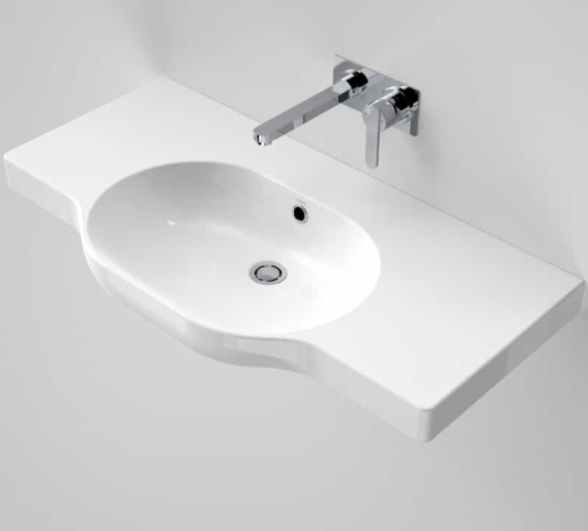 Caroma Opal 900 Twin Wall Basin, 0 Tap Hole OVERSTOCK