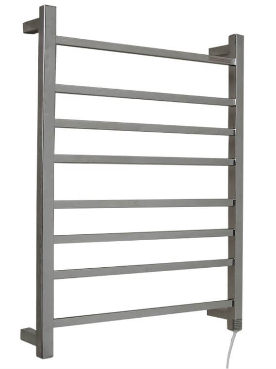Pluto Heated Towel Rail - 600mm Wide