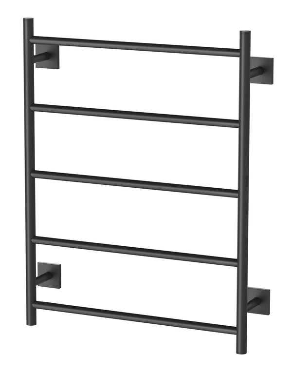 Radii Towel Ladder 550 x 740mm Square Plate - Matte Black