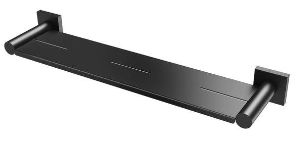 Radii Metal Shelf Square Plate - Matte Black
