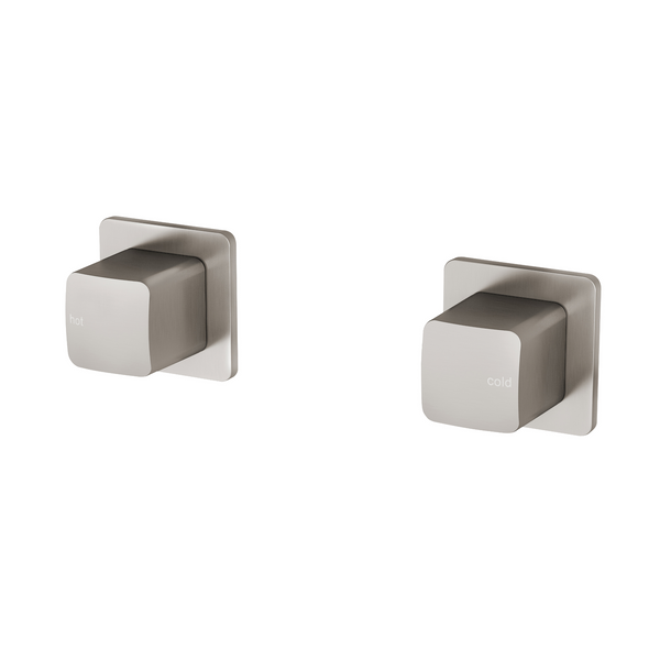 Phoenix Rush Wall Top Assemblies - Brushed Nickel
