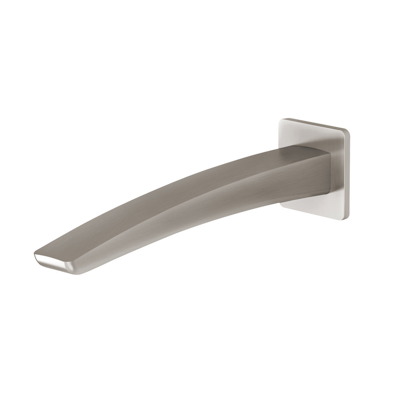 Phoenix Rush Basin Outlet 230mm - Brushed Nickel