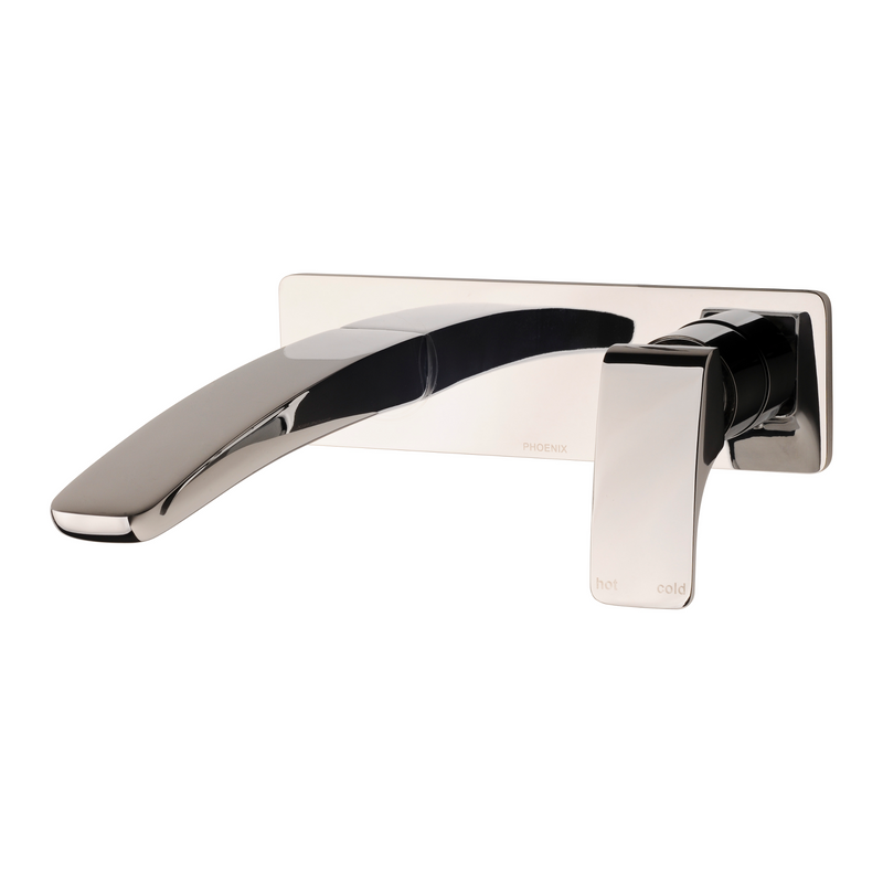 Phoenix Rush Wall Mixer and Bath Spout 180mm