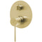 Phoenix Vivid Slimline Shower / Bath Diverter Mixer, Brushed Gold